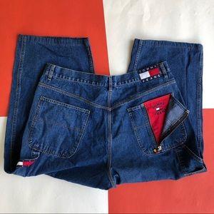 Vintage Tommy Hilfiger Flag Logo Jeans